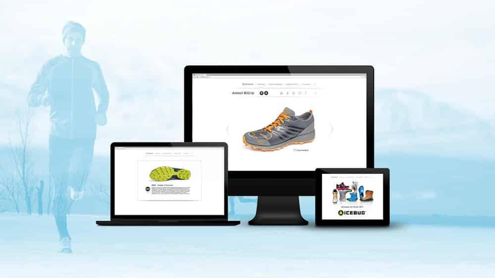 Icebug – Digital produktkatalog