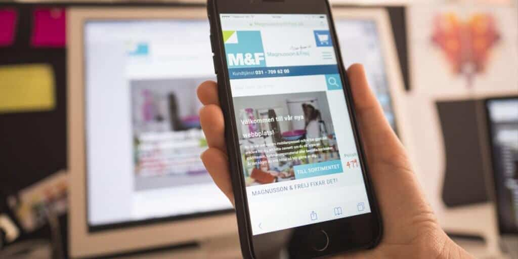 Magnusson & Freij - mobil webb