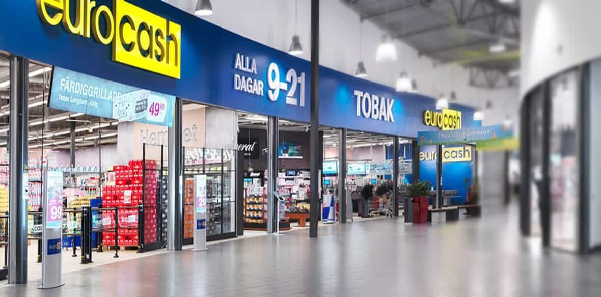 Eurocash butiksingång
