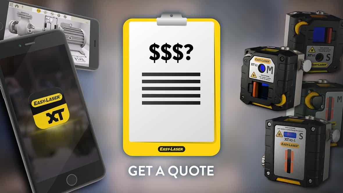 Get a quote inlägg för Easy-Laser på Facebook