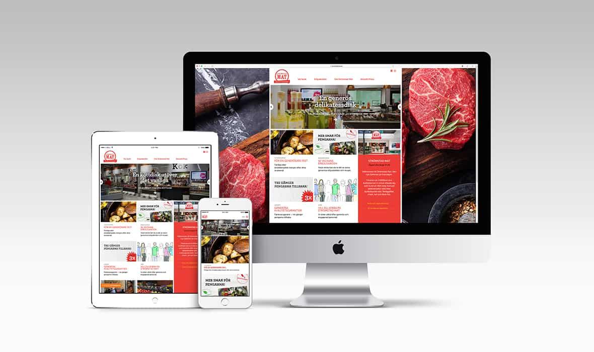 Strömstad Mat – Webbplats – Right Thing united