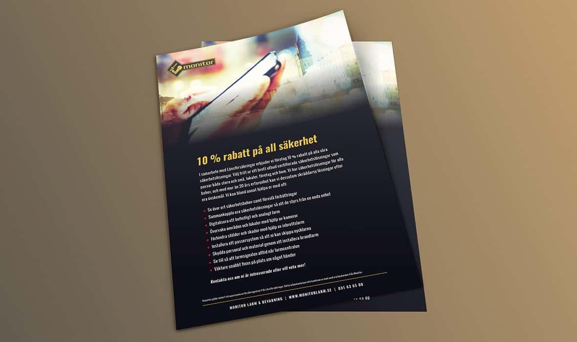 Monitor Larm – Informationsblad – Right Thing united