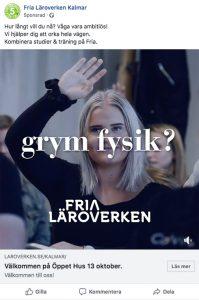Fria Läroverken – Digital rekryteringskampanj